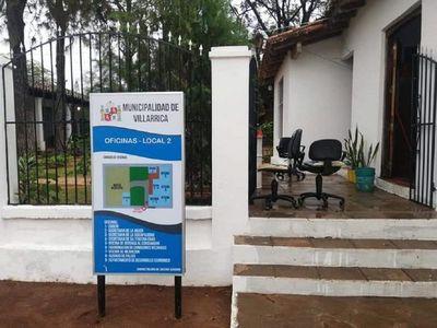 Cierran dependencia de la Municipalidad de Villarrica ante riesgo sanitario