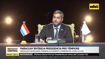 Paraguay entrega presidencia pro témpore del Mercosur