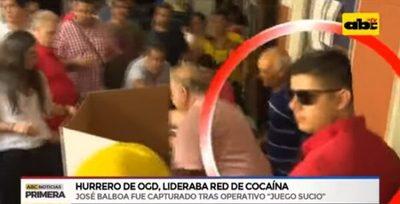 """Imágenes confirman que líder narco fue """"escolta"""" de González Daher"""