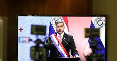 El político de la semana: Mario Abdo Benítez y su cuestionado informe de gestión