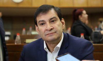 Vergonzoso error de Silvio Ovelar durante sesión virtual del Senado