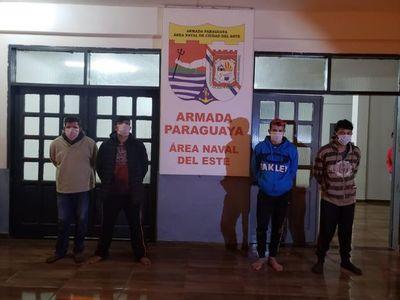 Otros cuatro detenidos en el río Paraná