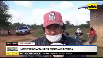 Indígenas de San Pedro claman por energía eléctrica
