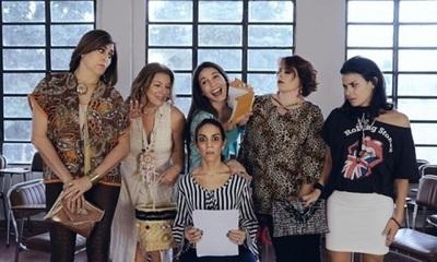 """Lourdes García presenta la serie web """"Mi grado es un peligro"""""""