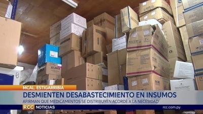 AFIRMAN QUE PARQUE DE XVI REGIÓN SANITARIA ESTÁ REPLETO DE MEDICAMENTOS