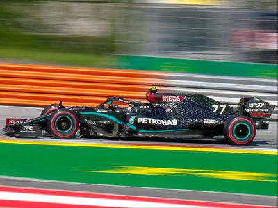 'Pole' para Valtteri Bottas en la primera carrera de la temporada