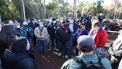 Imputaciones permiten la recuperación de 11 hectáreas deforestadas