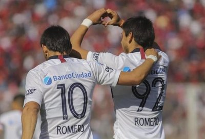 San Lorenzo festeja el 'show de magia' de los Romero