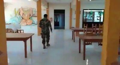 Militares desmienten denuncia de compatriotas en albergue