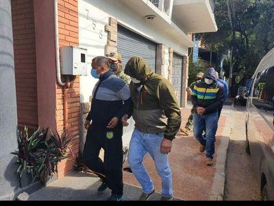 Fiscalía imputa a detenidos por el caso de arsenal en Luque