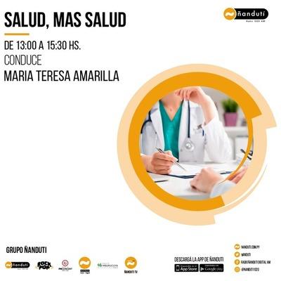 Salud más salud con María Teresa Amarilla