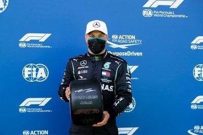 Valtteri Bottas se queda con la primera 'pole' de la temporada