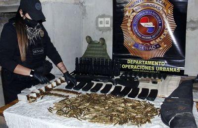 Imputaron por transgresión a la ley de armas, tras incautación de arsenal