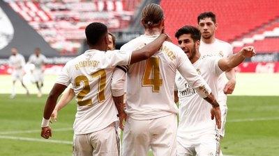 El Real Madrid acaricia la Liga con otro penal convertido por Sergio Ramos