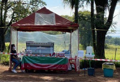 Frutilleros extreman medidas de seguridad en Areguá