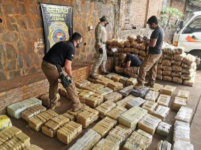 Interceptan camión con cerca de 730 kilos de marihuana en Itapúa