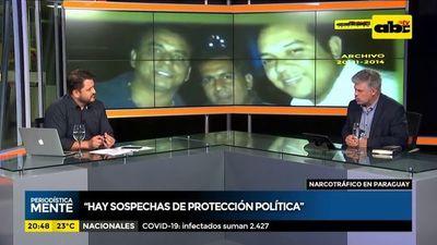 Narcotráfico en Paraguay: Hay protección política y económica