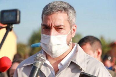 Abdo Benítez hace oficial la extensión de la Fase 3
