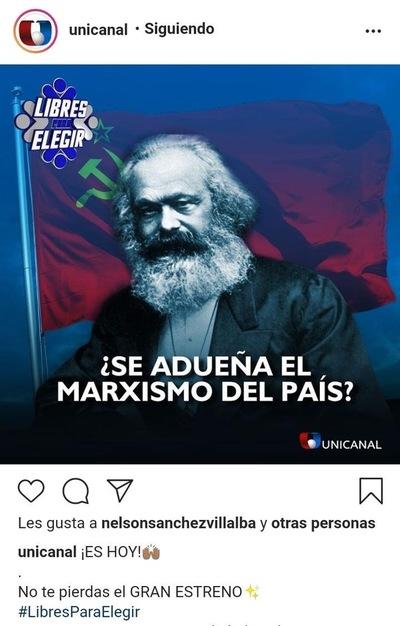 Televisar a Karl Marx
