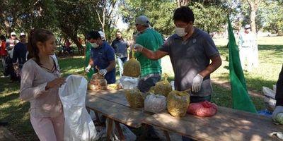 Con donación a familias carenciadas, FNC celebra 29 años de lucha