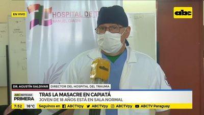 Masacre en Capiatá: estado de salud de baleados