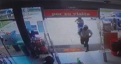 Millonario asalto a un supermercado en Villa Hayes