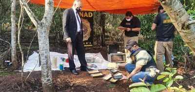 Detectan laboratorio de drogas en la Reserva de Itaipú