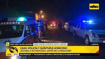 Autor de la masacre de Capiatá llamó a la Policía antes del quíntuple homicidio