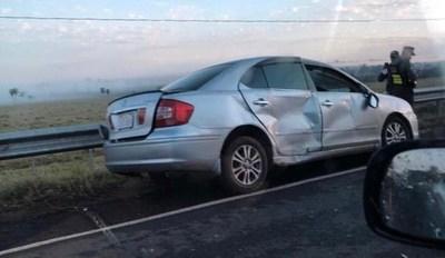 Joven mujer fallece en triple choque rutero en Arroyito