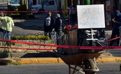 Bolivia: Cadáveres de víctimas del covid en las calles por colapso