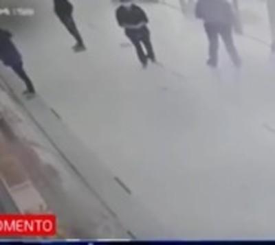 Capiatá: Violento asalto a local distribuidor