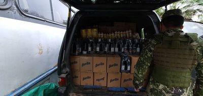 Remansito: incautan mercaderías de contrabando provenientes de Argentina