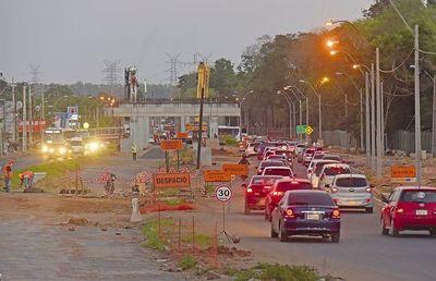 Habilitan tránsito en zona de Primer Presidente