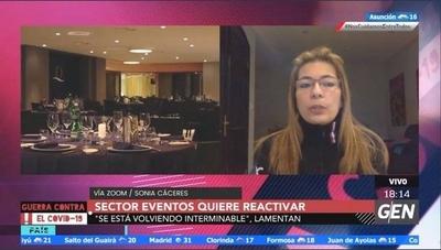 """HOY / """"La situación ya es interminable e insoportable"""", lamenta Sonia Cáceres, presidenta de la ASEPPE"""