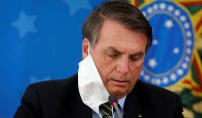 Confirmado: Jair Bolsonaro dio positivo a prueba de covid-19