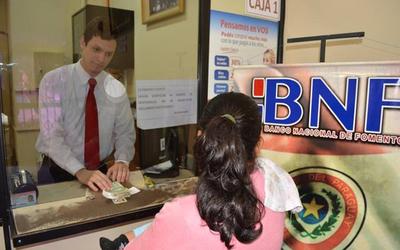 BNF entregó préstamos COVID a casi 3 mil personas