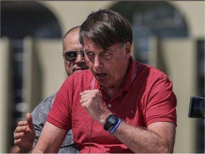 """Presidente de Brasil confirmó que tiene """"gripezinha"""""""