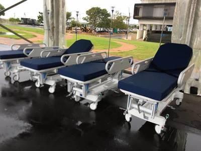 Ministerio de Salud recibe 120 camas hospitalarias – Prensa 5