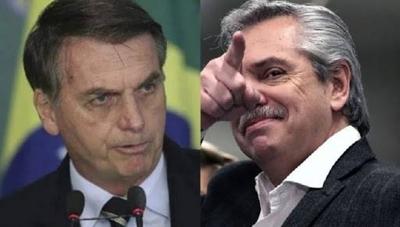 HOY / Alberto Fernández desea a Bolsonaro una pronta recuperación