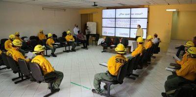 Implementan una Brigada Forestal para combatir la sequía e incendios en el país
