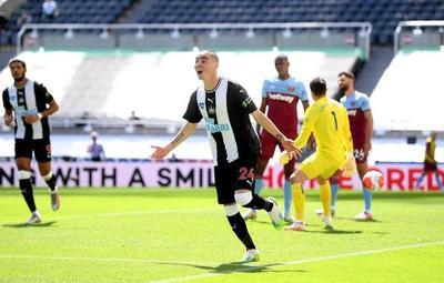 Homenajean con pegajosa canción a Miguel Almirón, máximo goleador del Newcastle