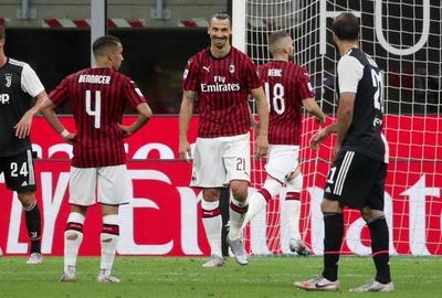 Milan vence y frena a la Juventus de Ronaldo