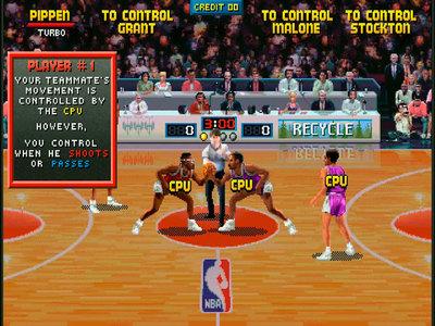 La trampa en el juego NBA Jam