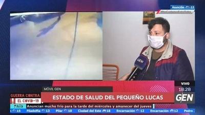 HOY / Lucas, el niño baleado por policías se encuentra con tratamientos psicológico tras lo sucedido