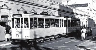 Hace 107 años se inauguraba el tranvía eléctrico en Asunción