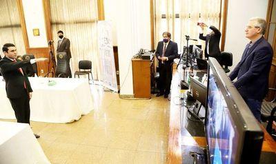 Diputado cuestionado por conseguir título en 24 horas es viral por peculiar intervención en sesión del JEM