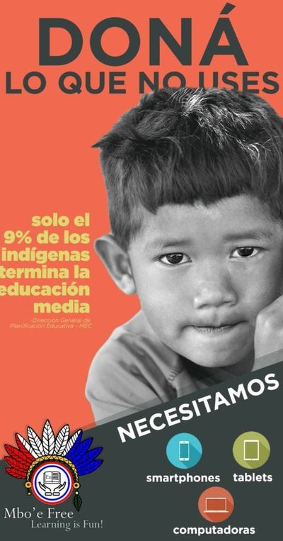 Festejo con  campaña solidaria en beneficio de niños indígenas