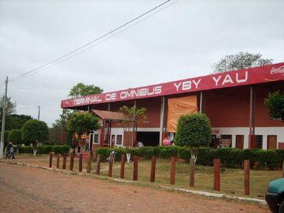 Cierran terminal de ómnibus de Yby Yaú por funcionario con Covid-19