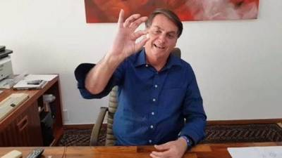 Bolsonaro utiliza su contagio para promover su estrategia contra la pandemia