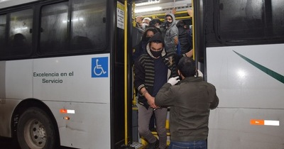 Coronavirus en San Lorenzo: control sanitario en buses